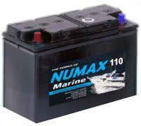 NUMAX BATTERY 12V 110AH Sealed Leisure