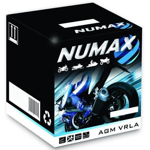 NUMAX Motorcicle Battery 12V 14AH Sealed With Acid Pack