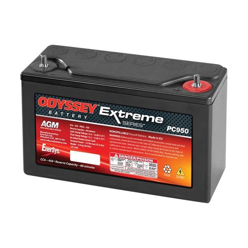 ENERSYS ODYSSEY Extreme Series Battery 12V 34Ah ( 250x97x156mm )